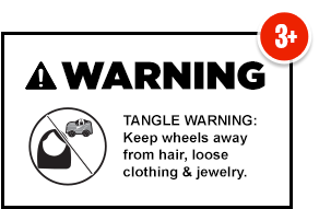 ⚠ WARNING Tangle Hazard