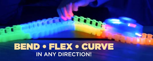 Bend, Flex, Curve in any direction!